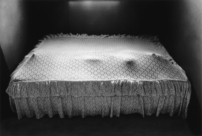 Figure Under Bedspread, 1974