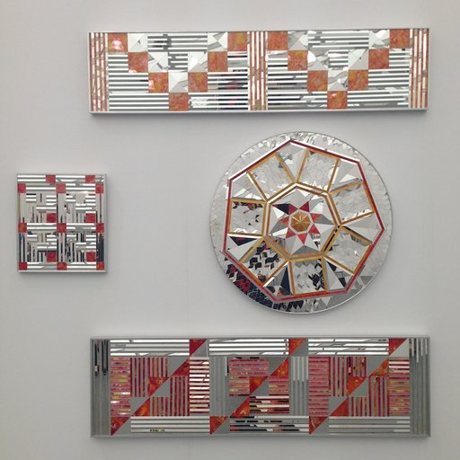 At Frieze, Mirror Art Meets Profundity in the Hands of Monir Shahroudy Farmanfarmaian