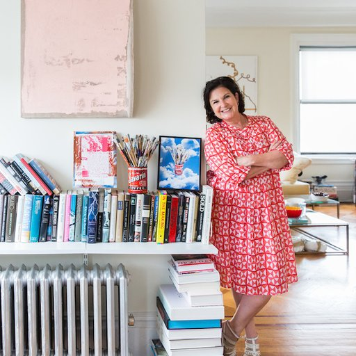 Inside Collector Sue Stoffel's Upper West Side Home, a Hive for Emerging Art and Spirited Soirées