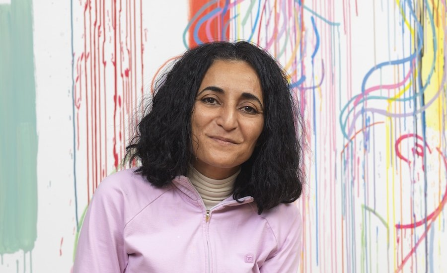 Ghada Amer, Feminist Provocateur of Middle Eastern Art, on Experimenting With an Ancient Medium