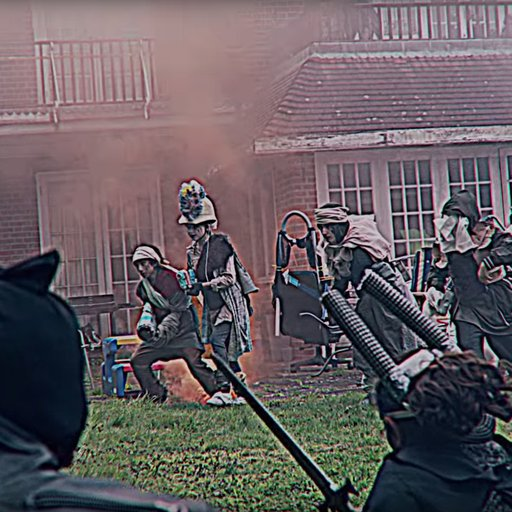 "Watch Jon Rafman's Ultraviolent LARPing Children's Crusade, ""Sticky Drama"""