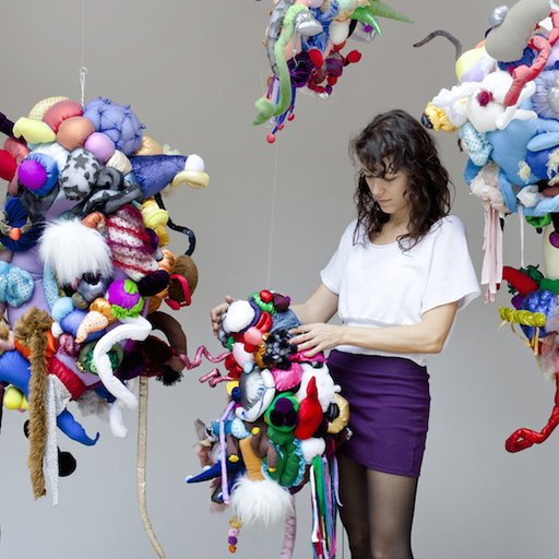 A Few Questions for Maria Lynch, Brazilian Sculptor of Elevated Child's Play and Transience