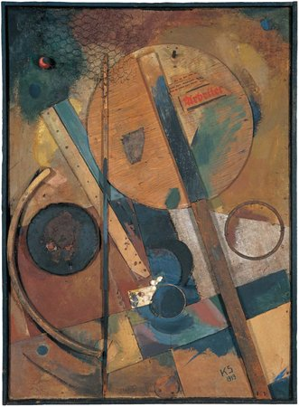 The Worker Picture, by Kurt Schwitters