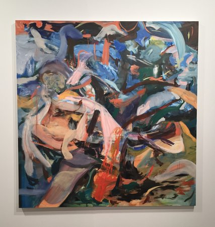 Cecily Brown Blue Vox 2016 at Maccarone