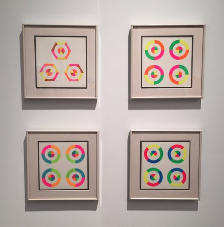 Judy Chicago Optical Shapes 1969 at Jessica Silverman Gallery
