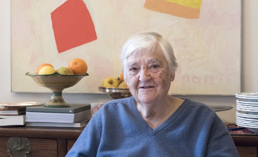 Bliss Home And Design Interview Questions By Artist Poet Etel Adnan On How She Seeks