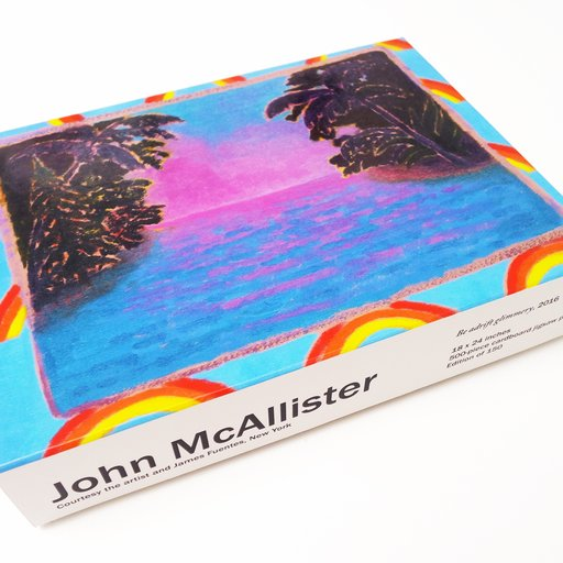 Life's a Beach (And a Puzzle): John McAllister's Exclusive Artspace Edition
