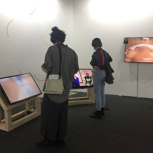 Video Art Reigns At Mexico City's Material Art Fair 2017