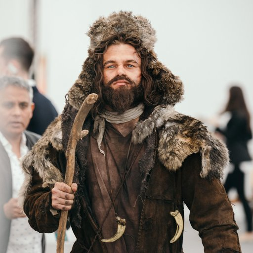 Why Are Leonardo DiCaprio's Characters Running Around Frieze?
