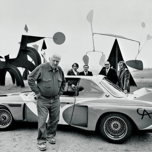 Alexander Calder, More than a Sculptor, Made Paintings, Jewelry, and Stage Sets