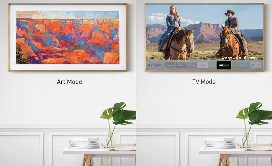 Samsung's Newest Television Allows You To Collect Art On-Demand