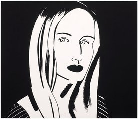 Christine, by Alex Katz