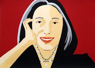 Ada, by Alex Katz