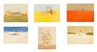 1954-1959 Small Cuts portfolio, by Alex Katz