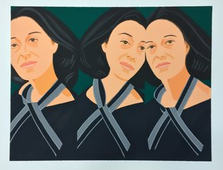 Gray Ribbon, by Alex Katz