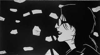 Sharon, by Alex Katz