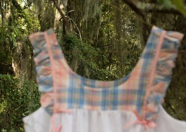 Allison Janae Hamilton - House dress hanging in live oak II.