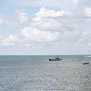 Amphibious Landing, Gulf of Thailand art for sale