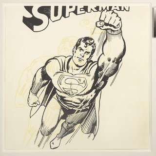 Superman (Unique) art for sale