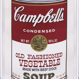 Campbell's Soup II: Old Fashioned Vegetable (FS II.54) art for sale