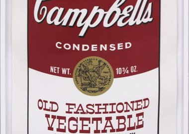 Andy Warhol - Campbell's Soup II: Old Fashioned Vegetable (FS II.54)