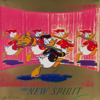 The New Spirit (Donald Duck) (FS II.357) art for sale