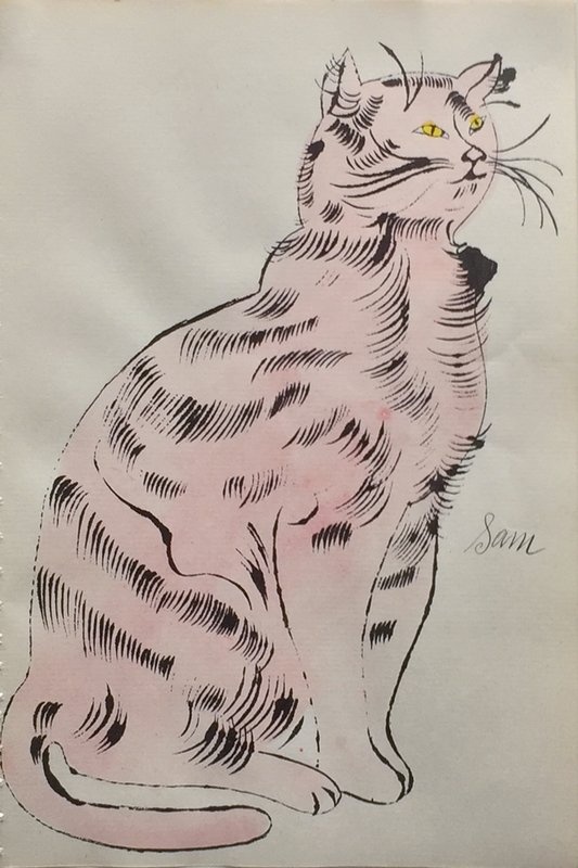 Andy Warhol, From 25 Cats Name Sam and One Blue Pussy (IV.56)