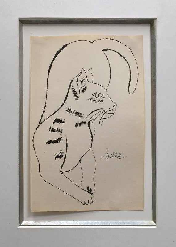 Andy Warhol, 25 Cats Name Sam and One Blue Pussy (IV.65)