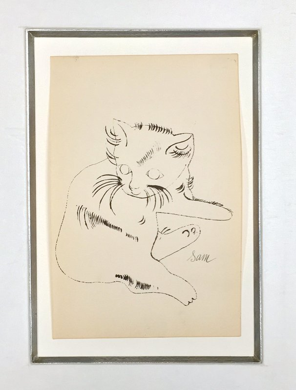 Andy Warhol, 25 Cats Name Sam and One Blue Pussy (IV.66)