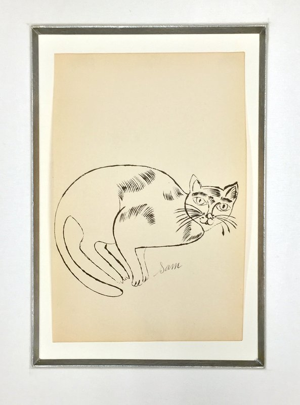 Andy Warhol, 25 Cats Name Sam and One Blue Pussy (IV.67)