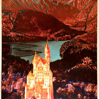 """Neuschwanstein,"" Editions Schellmann, Munich/New York and Sabine Knust, Munich art for sale"