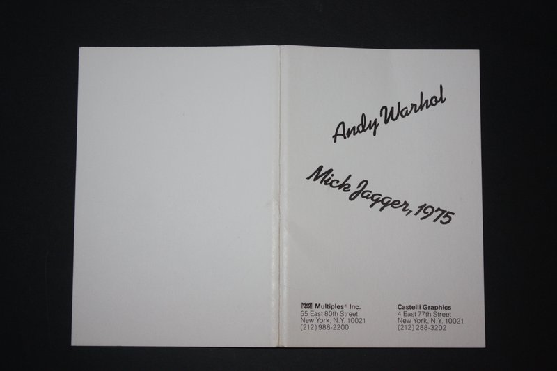 Andy Warhol, Mick Jagger Postcards (Set of 10) -
