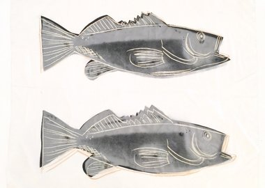 Andy Warhol - FISH (F/S Cat. #IIIA.40)