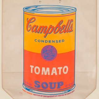 Andy Warhol, Soup Can Bag