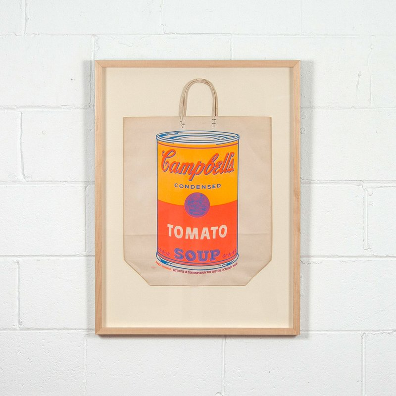 Andy Warhol, Soup Can Bag -