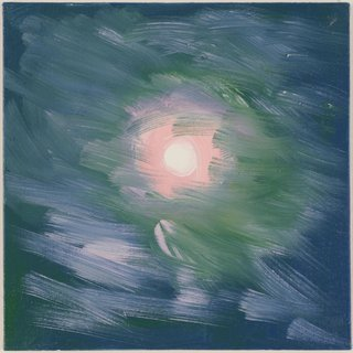 Moon (Peach Soft Clouds, Cushing, 7-28-15, 12:20 AM) art for sale