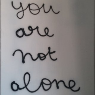 You are not alone art for sale