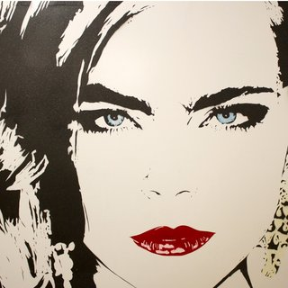 Cara Delevigne art for sale
