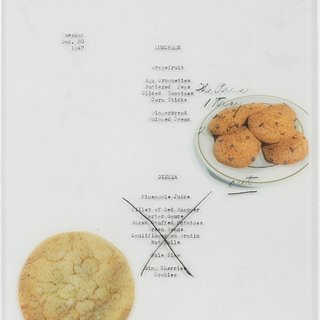 Menu No. 9 (Meals eaten during the presidency of Harry S. Truman), by Benjamin Crotty