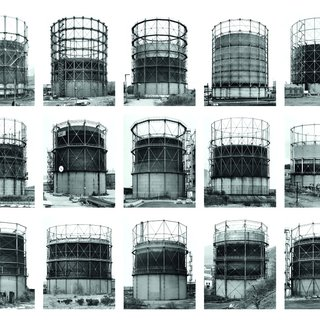 Bernd and Hilla Becher - Gas Tanks, Photograph