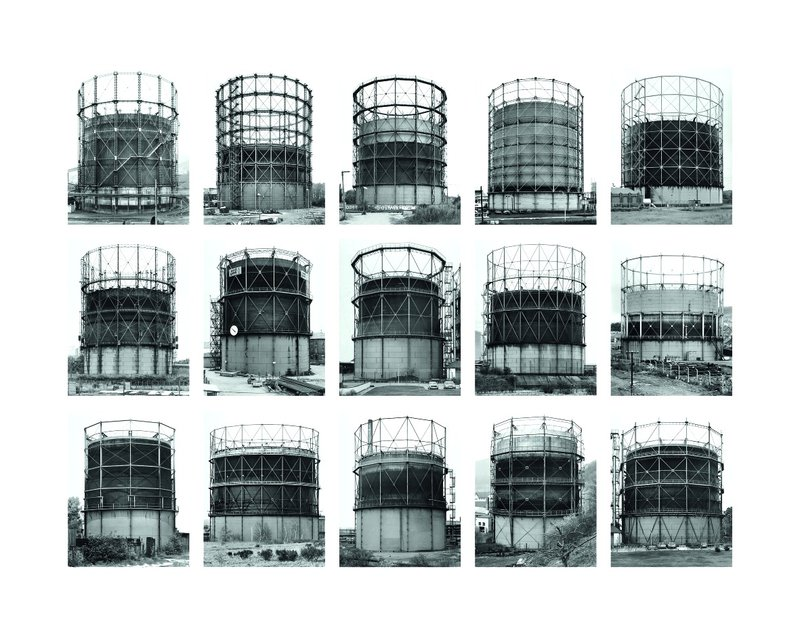 Bernd and Hilla Becher, Gas Tanks, 2009