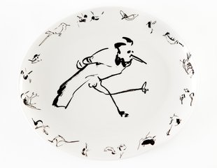 Birds Platter for Perfect Earth Project, by Billy Sullivan