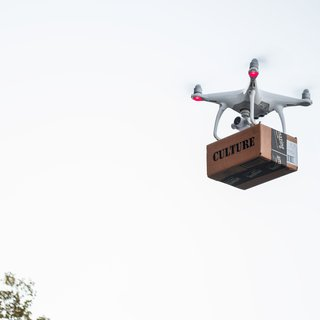 Drone Delivery (edition of 5) This is 3 of 5 art for sale