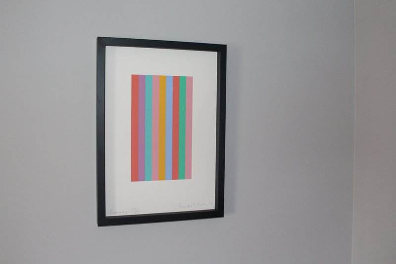 Bridget Riley, Sideways -