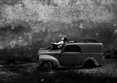 Bruno Barbey - Italy. Rome. 1964.