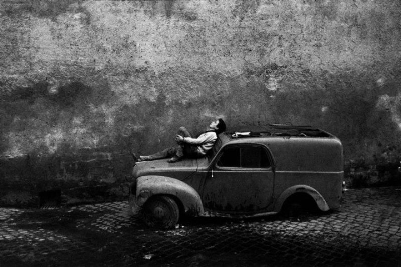 Bruno Barbey, Italy. Rome. 1964.