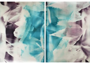 Bryan Graf - Lattice Ambient 10 & 11, Diptych