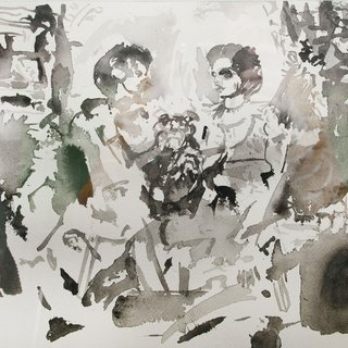 Cecily Brown - Untitled, Work on Paper