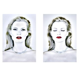 Chris Levine, Kate Moss (She's Light)