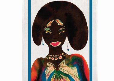 Chris Ofili - Afromuses (Woman) Tea Towel